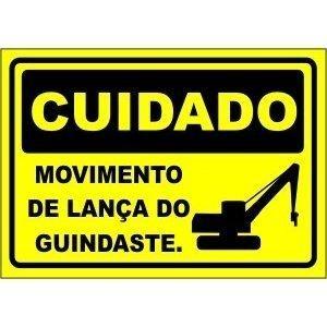 Empresa de sinalização para guindastes