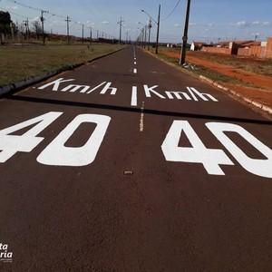 Faixas de sinalização de trânsito