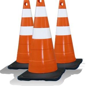 Cone de sinalização Distrito Federal